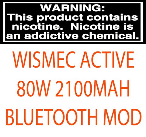WISMEC ACTIVE 80W 2100MAH BLUETOOTH MOD
