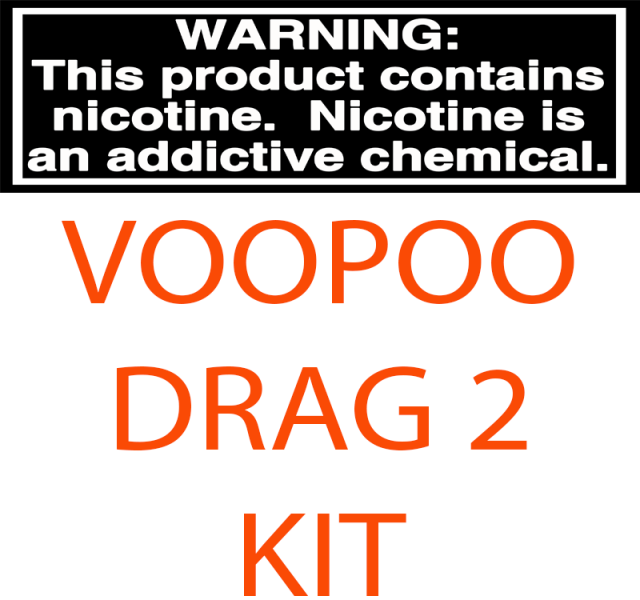 VOOPOO DRAG 2 RESIN EDITION 177W STARTER KIT WITH 8ML UFORCE T2 TANK
