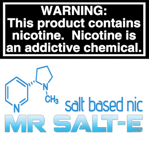 MR. SALT-E NICOTINE SALT E-LIQUID 30ML