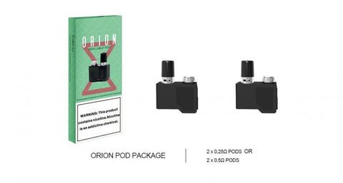 LOST VAPE ORION DNA GO 2ML REFILLABLE REPLACEMENT PODS - PACK OF 2