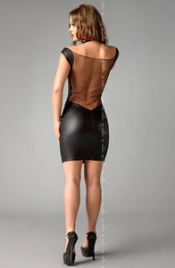 DRESS - BLACK - ME SEDUCE JOLINE - AvecEnvie