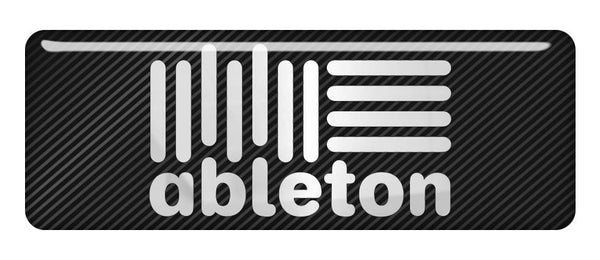 "Ableton 2.75""x1"" Chrome Effect Domed Case Badge / Sticker Logo"