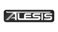 "Alesis 2""x0.5"" Chrome Effect Domed Case Badge / Sticker Logo"