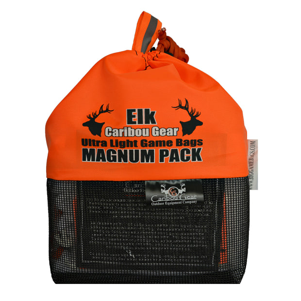 Magnum Pack Medium - M.O.B (Meat On Bone) for Elk and Caribou