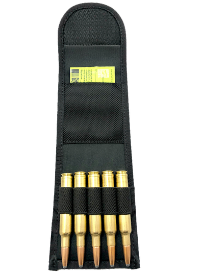Bullet Wallet - 5 Rifle Bullets and ID Pocket