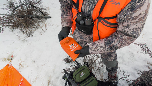 Hunters Tarp For Elk Hunting With Caribou Gear
