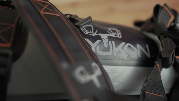Waterproof Duffel Bag by Koyukon®- 40L Storm Gray