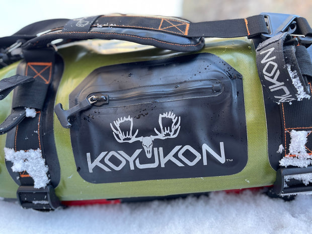 Waterproof Duffel Bag by Koyukon®- 70L Alpine Green
