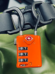 Orange Cable Lock