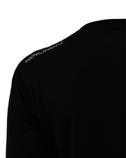 Women's Long Sleeve- Shoulder Logo