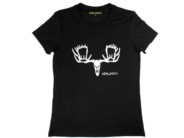 Women's Short Sleeve- Moose Head Logo