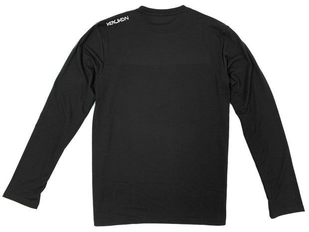 Men's Long Sleeve- Shoulder Logo