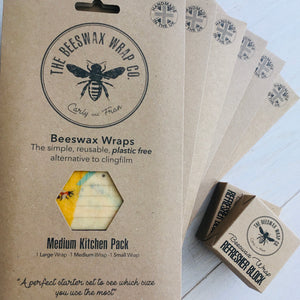 Beeswax Wrap - Small Kitchen Pack