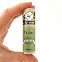 Load image into Gallery viewer, RESTORE - Vegan Valley Mist Lip Balm 10g Zero Waste Packaging