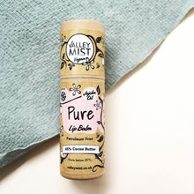 Load image into Gallery viewer, PURE - Vegan Valley Mist Lip Balm 10g Zero Waste Packaging