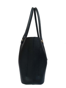 Shoulder Bag- Black and Gold