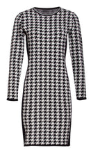 Load image into Gallery viewer, Houndstooth Knit Dress