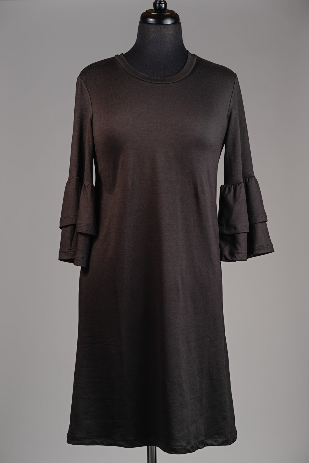 Bell Sleeve T-shirt Dress
