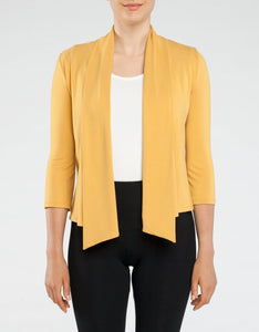 Waterfall Cardigan- Yellow