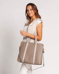 Rhodes Laptop Bag - Mocha
