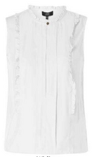 Load image into Gallery viewer, Sleeveless Ruffle Blouse