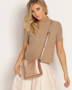 Soho Crossbody- Rose Gold