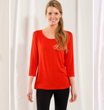 Load image into Gallery viewer, Ava 3/4 Sleeve Top