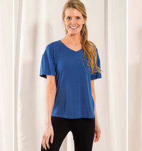 Becca Relaxed Fit V neck