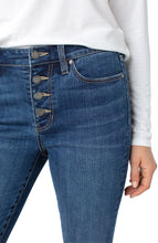 Load image into Gallery viewer, Abby Ankle Skinny Jean with Buttons