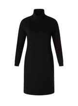 Load image into Gallery viewer, Turtleneck Sweatshirt Dress