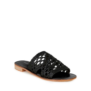 Emu Kadina Leather Slide - Black