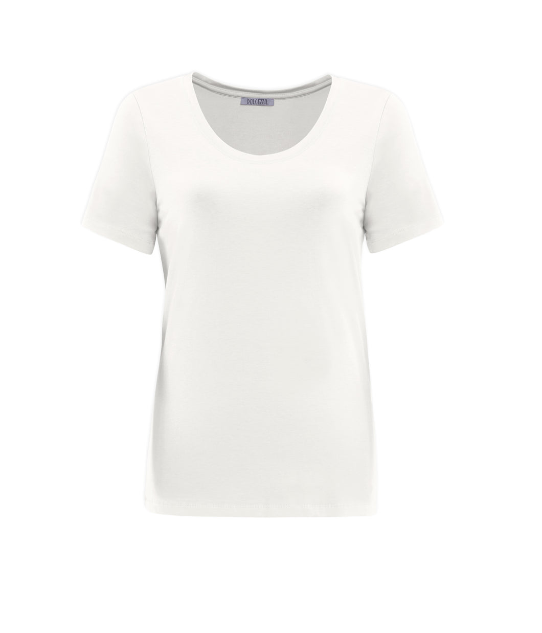 Basic Round-neck T-shirt - Off White