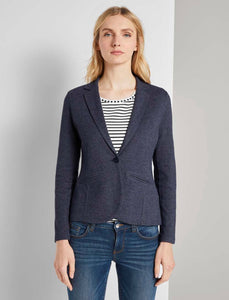 Soft Blazer- Demin Blue