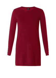 Sweater Dress with Buttons