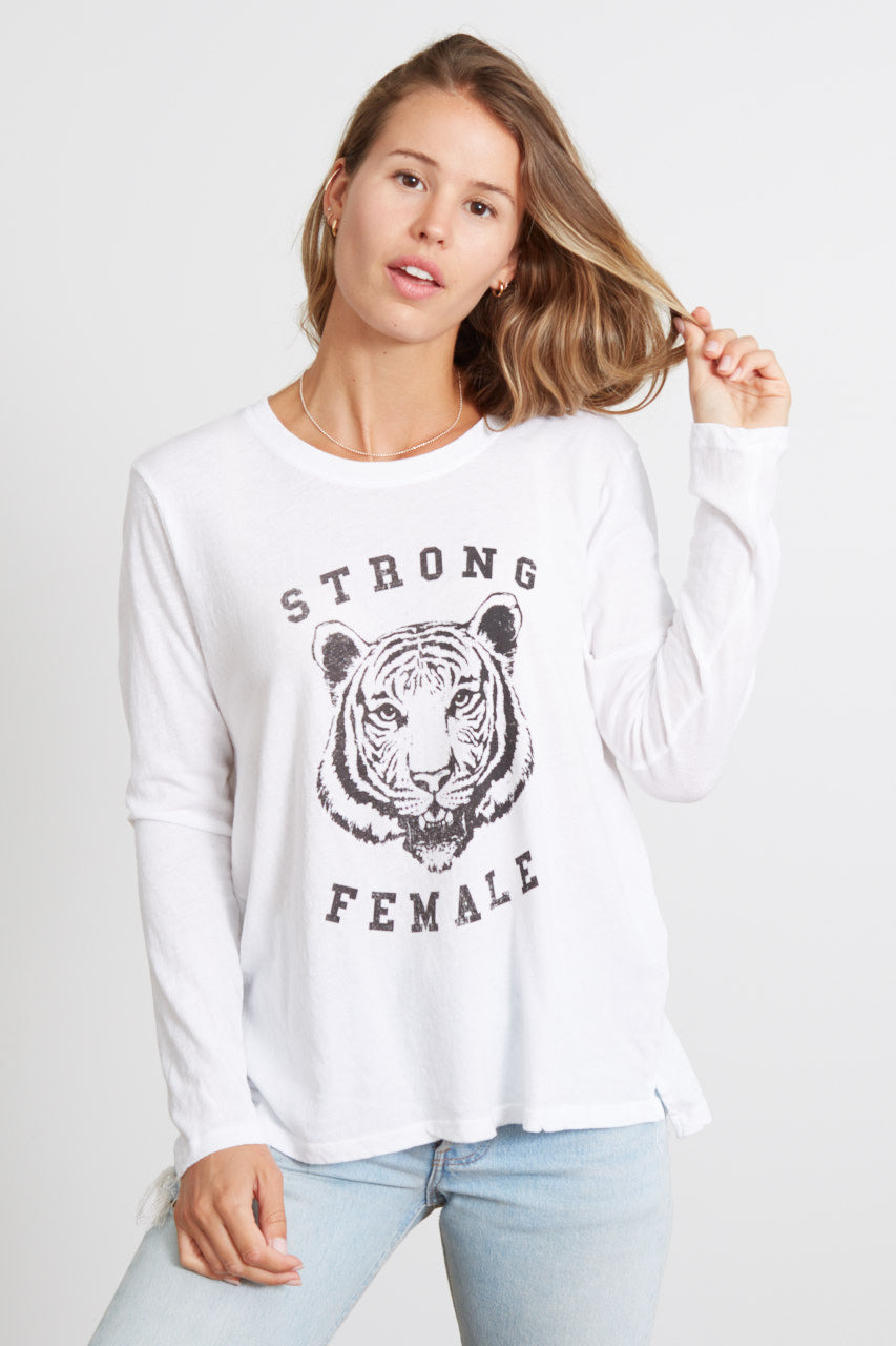good hYOUman 'Strong Female' Long Sleeve