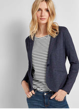 Load image into Gallery viewer, Soft Blazer- Demin Blue