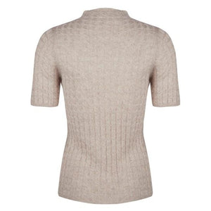 Knit Sweater- Beige with sparkle