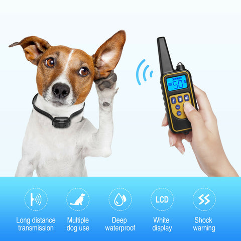 Dog Shock Collar with Remote Latest Model Dog Training Collar