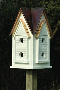 Victorian Mansion Birdhouse - Fortune And Glory - Made in USA Gifts