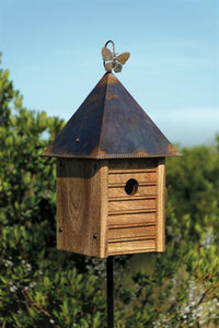 Homestead Birdhouse - Fortune And Glory - Made in USA Gifts