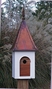 French Villa Birdhouse - Birdhouses