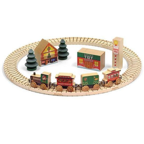 North Pole Village Railway Set
