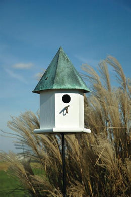 Copper Songbird Deluxe Birdhouse