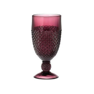 Addison Glass Goblet - 6 Color Options - Fortune And Glory - Made in USA Gifts