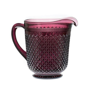 Addison Glass Pitcher - 6 Color Options - Fortune And Glory - Made in USA Gifts