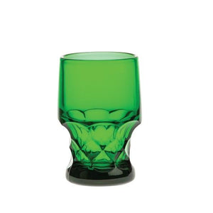 Georgian Glass Tumbler - 5 Color Options - Fortune And Glory - Made in USA Gifts