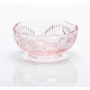 Inverted Thistle Glass Berry Bowl - 4 Color Options - Baby Gifts