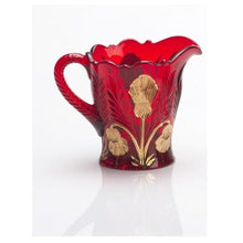 Inverted Thistle Glass Creamer - 4 Color Options