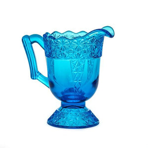 Queen Set Glass Pitcher - 2 Color Options - Colonial Blue - Baby Gifts