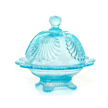 Shell Glass Butter Dish - 3 Color Options